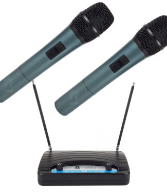 LOUD220 Set 2 Micrófonos Inalámbricos Vhf