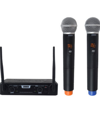 KM288D Set 2 Micrófonos Inalámbricos UHF multifrecuencia