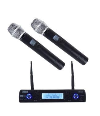 KM562D Set 2 Micrófonos Inalámbricos UHF / PLL multifrecuencia