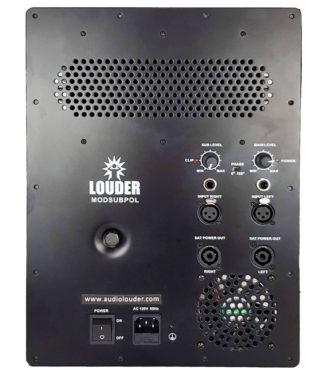 MODSUBPOL Modulo amplificador, 1 Subwoofer y 2 medios 1200w